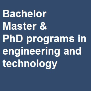 bachelor, master, phd in engineering and technology